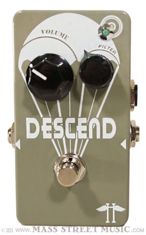 heavy electronics descend reverse volume pedal