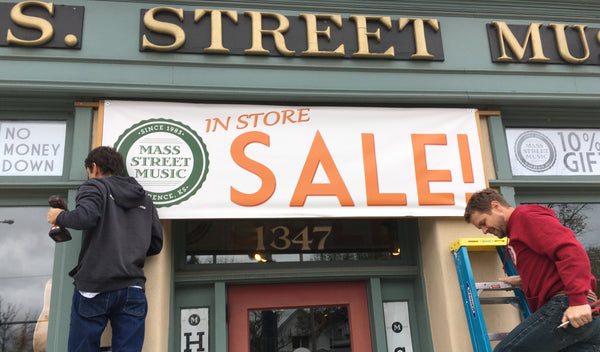 Holiday Sale at Mass Street Music