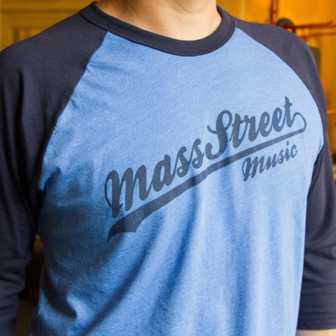 Mass Street Music Baseball Tee