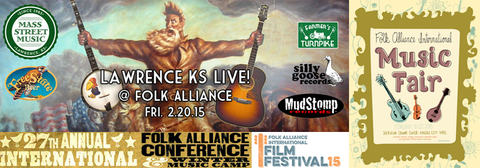 Folk Alliance Conference and Music Camp 2015