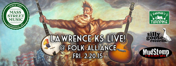 Lawrence KS Live at Folk Alliance music fair