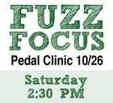 Fuzz Pedal event graphic