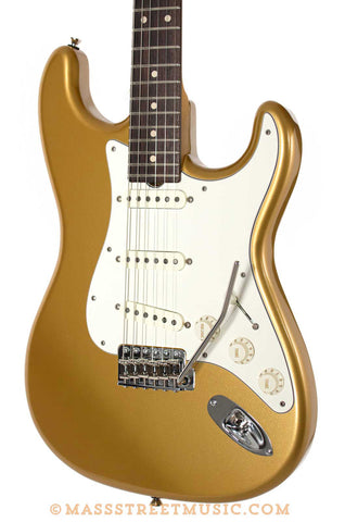 Grosh NOS Retro Gold Strat Style custom electric guitar