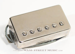 fralin humbucker guitar pickup with nickel cover