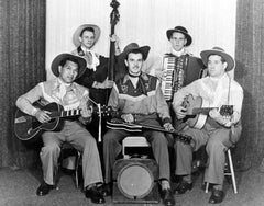 Old time cowboy band