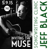 Jeff Black songwriting clinic at Mass Street Music