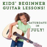 Kids Guitar Class July 2014