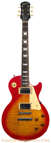 Epiphone Les Paul Pro Cherry Burst finish used