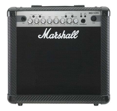 Marshall MG15CFX 15 watt amp with built in effects