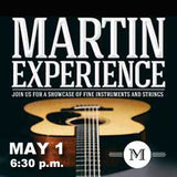 Martin Guitar Experience event graphic