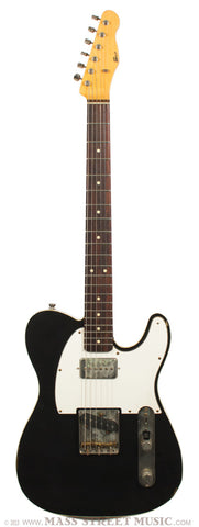 Seuf OH20 electric guitar black relic