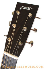 Collings Acoustic Guitar Headstock