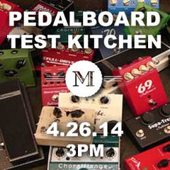 Pedalboard Clinic graphic