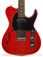 Grosh Retro Classic Hollow T electric guitar in Red