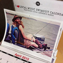 I Heart Local Music Calendar 2015