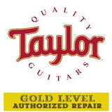 Taylor Guitars logo with Authorized Repair info