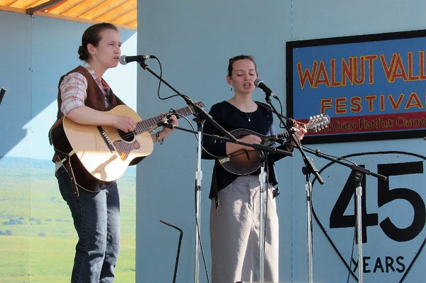 The Vogts Sisters at the Walnut Valley Festival