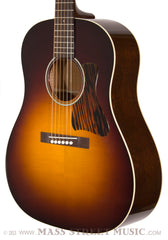 Collings CJ acoustic German top burst finish