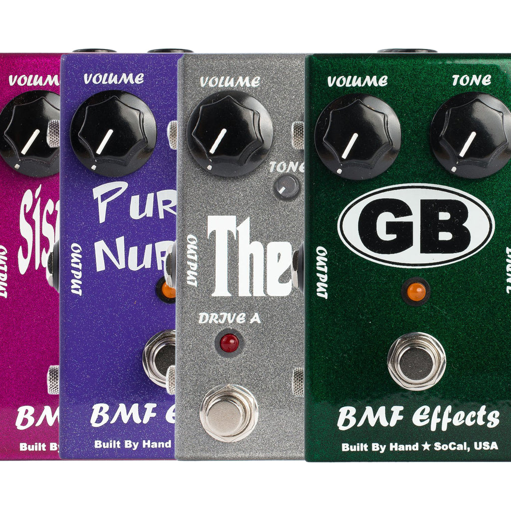 BMF Effects Pedals