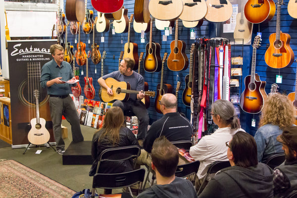 Eastman Roadshow at Mass Street Music