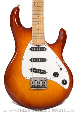 Ernie Ball Silhouette electric guitar burst finish