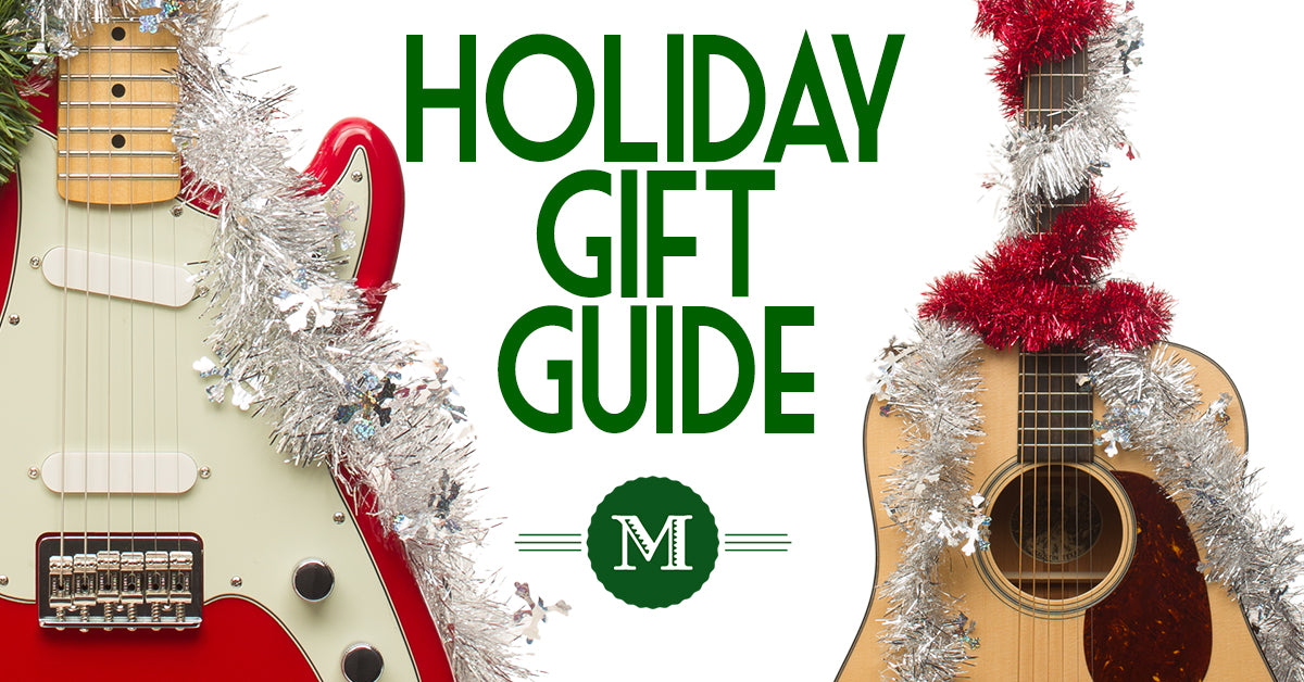 Best Guitar Accessories Holiday Gift Guide