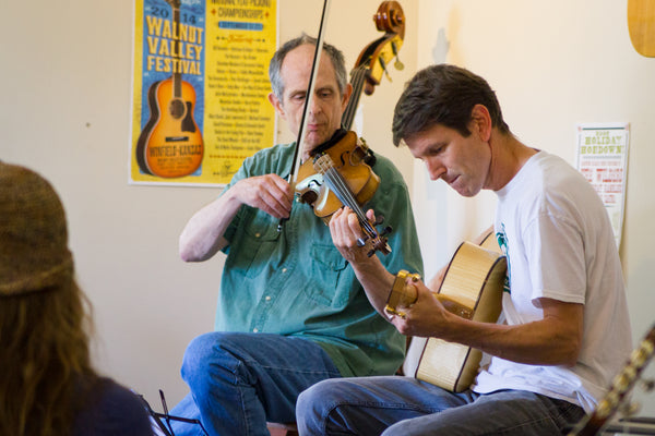 Gypsy Jazz Clinic at Mass Street Music