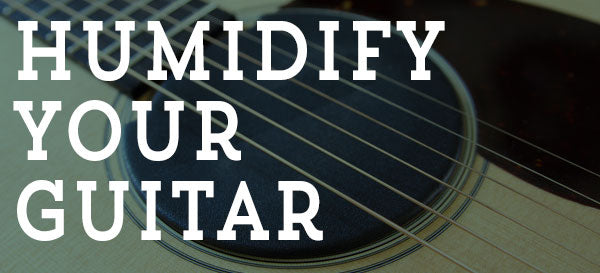 5 Tips for keeping your Guitar Humidified
