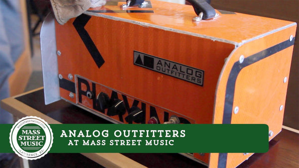 Analog Outfitters at Mass Street Music
