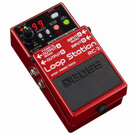 BOSS Guitar Effect Pedals - RC-3 Loop Station Pedal