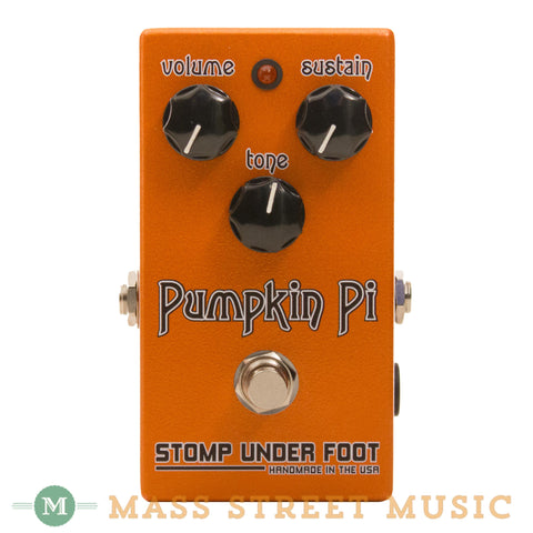 Stomp Under Foot - Pumpkin Pi Fuzz