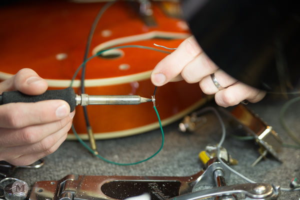 Repair Spotlight: Soldering the electronics