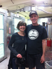 Anne with Collings master finisher Steve