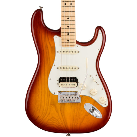Fender Electric Guitars - American Professional Stratocaster HSS - Sienna Sunburst