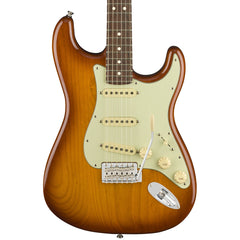 Fender Electric Guitars - American Performer Series Stratocaster - Honey Burst - Front Close