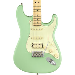 Fender Electric Guitars - American Performer Series Stratocaster - Satin Surf Green - Front Close