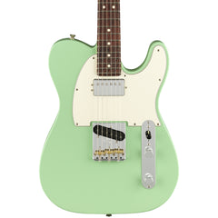 Fender Electric Guitars - American Performer Series Telecaster - Satin Surf Green - Front Close