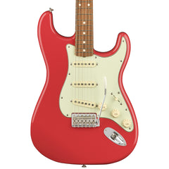 Fender Electric Guitars - 60's Stratocaster Laquer - Pau Ferro - Fiesta Red - Front Close