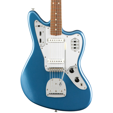 Fender Electric Guitars - Classic Series - '60s Jaguar Lacquer - Lake Placid Blue - Front