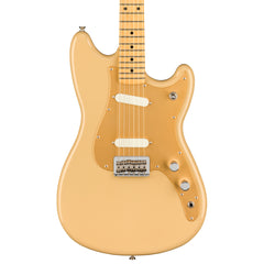 Fender Electric Guitars - Duo Sonic - Desert Sand - Front Close
