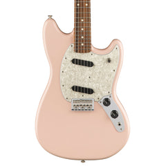 Fender Electric Guitars - Mustang - Shell Pink - Front Close