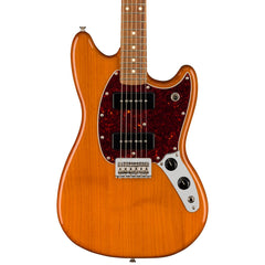 Fender Electric Guitars - Mustang 90 - Aged Natural - Front Close