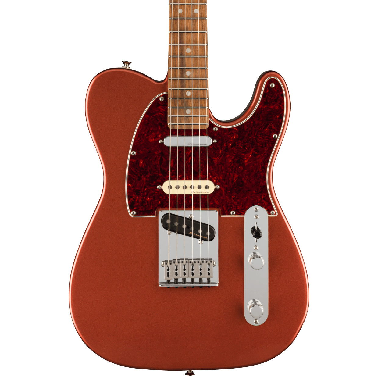 Fender Electric Guitars - Player Plus Nashville Telecaster - Pao Ferro - Aged Candy Apple Red