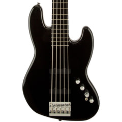 Squier Basses - Deluxe Jazz Bass Active V - Black - Ebonol Fingerboard
