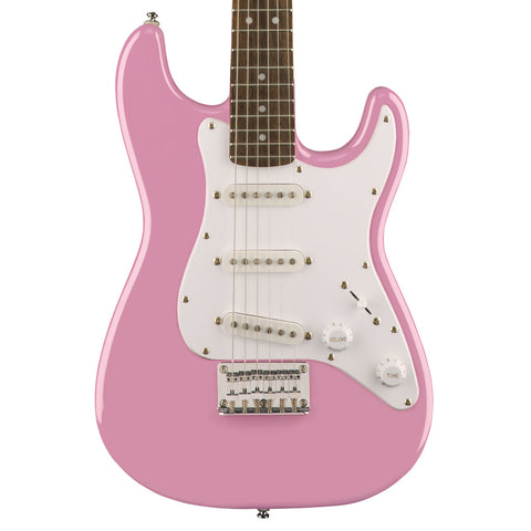 Squier - Mini Strat - Pink - Front Close