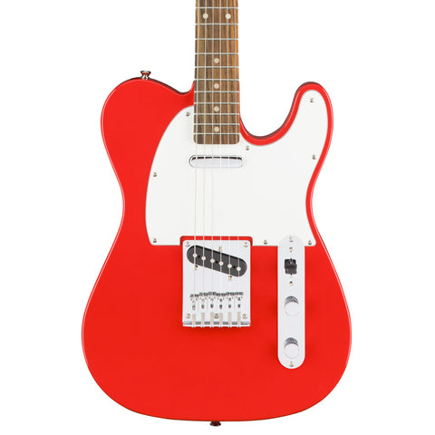 Squier - Affinity Tele - Race Red - Front