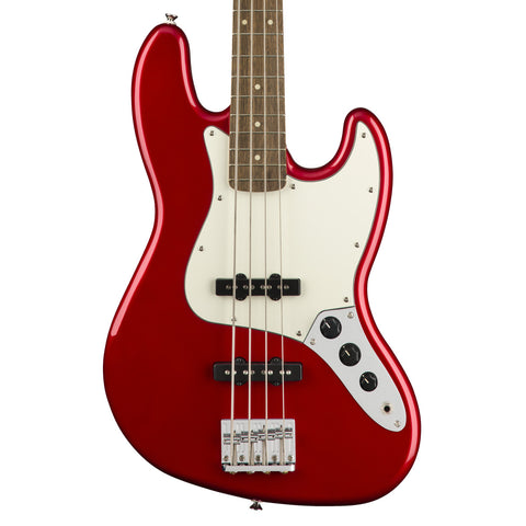 Squier - Contemporary Jazz Bass Special - Metallic Red - Laurel Fingerboard