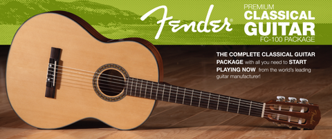 Fender - FC-100 Classical Guitar Pack