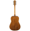 Fender CD-60 Natural Acoustic Guitar - back