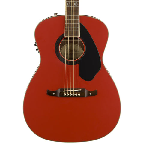 Fender Acoustic Guitars - Tim Armstrong Hellcat FRS - Ruby Red
